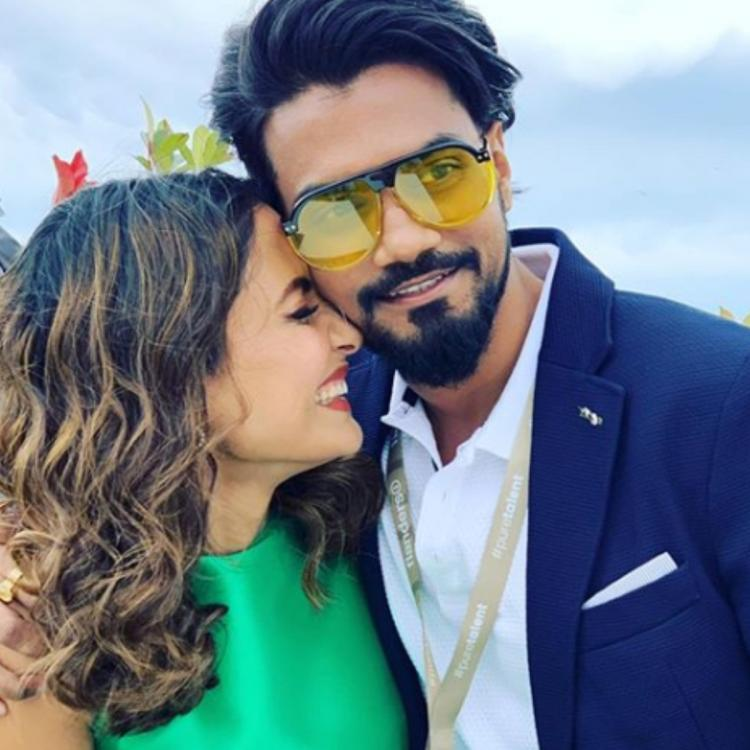 Hina Khan sends out birthday wishes coupled with love for Valentine's Day to beau Rocky Jaiswal; PHOTOS