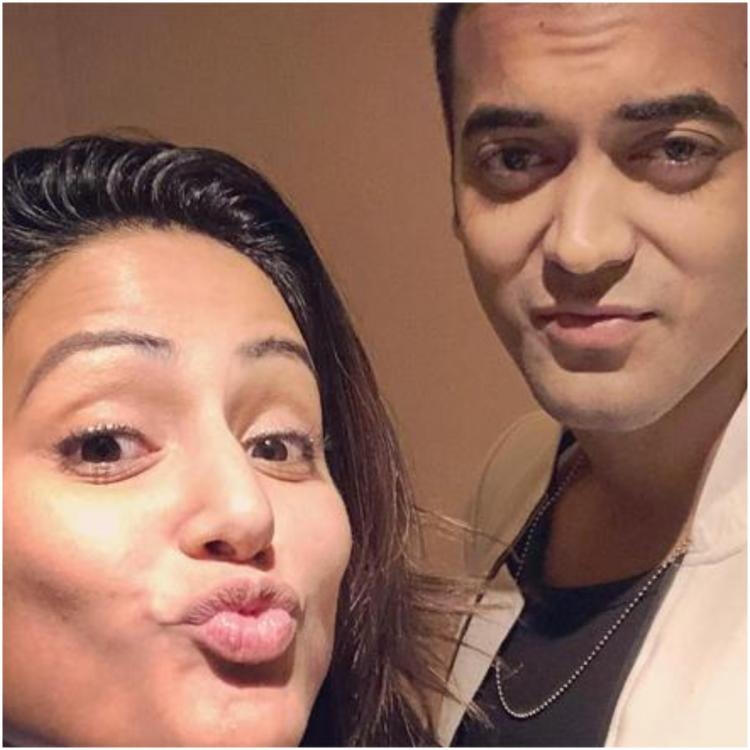 Hina Khan and Luv Tyagi's friendship seems to have gone for a toss as latter says nothing is permanent