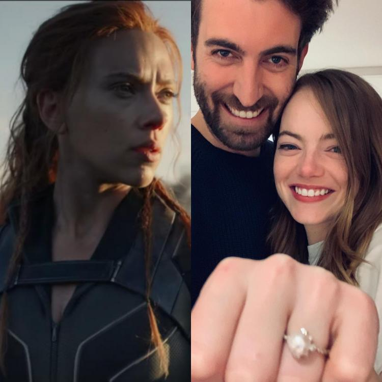 Hollywood Newsmakers Of The Week: Emma Stone engaged, Taylor's song, Black Widow & No Time To Die trailer out