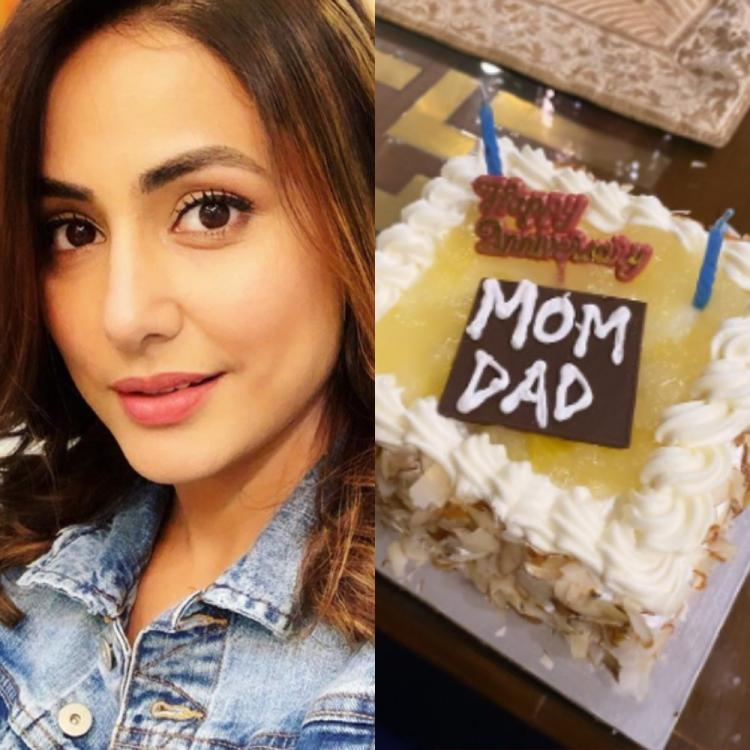 Hina Khan's adorable anniversary wish for her parents is sure to melt your hearts; View PIC