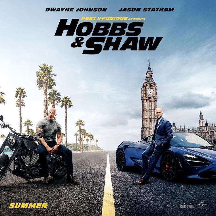 Hobbs & Shaw releases in India on August 2, 2019.