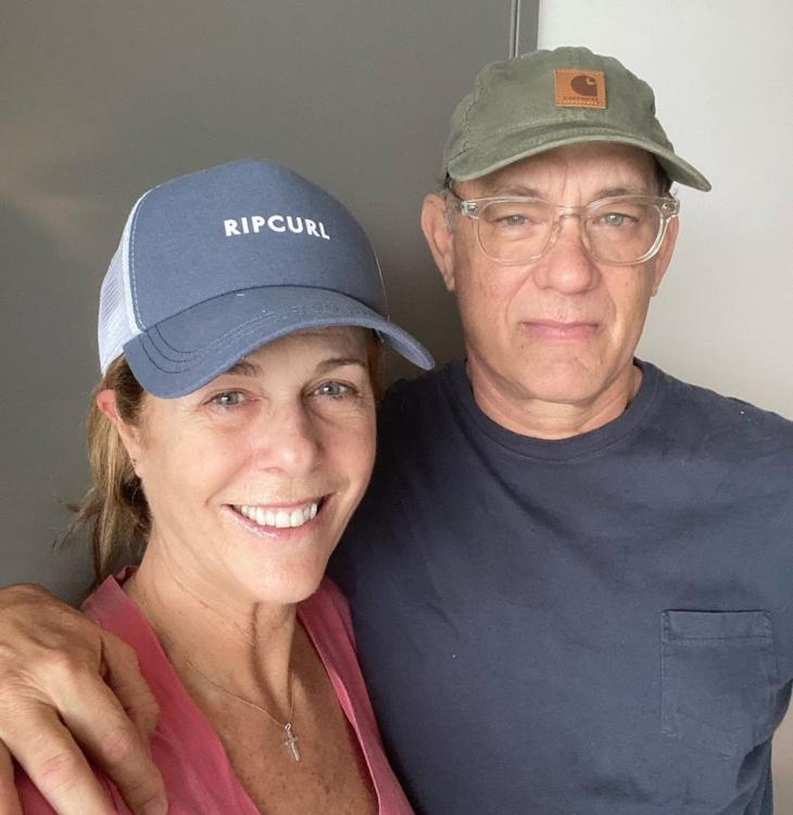 Tom Hanks and Rita Wilson were in Australia when they tested positive for coronavirus.