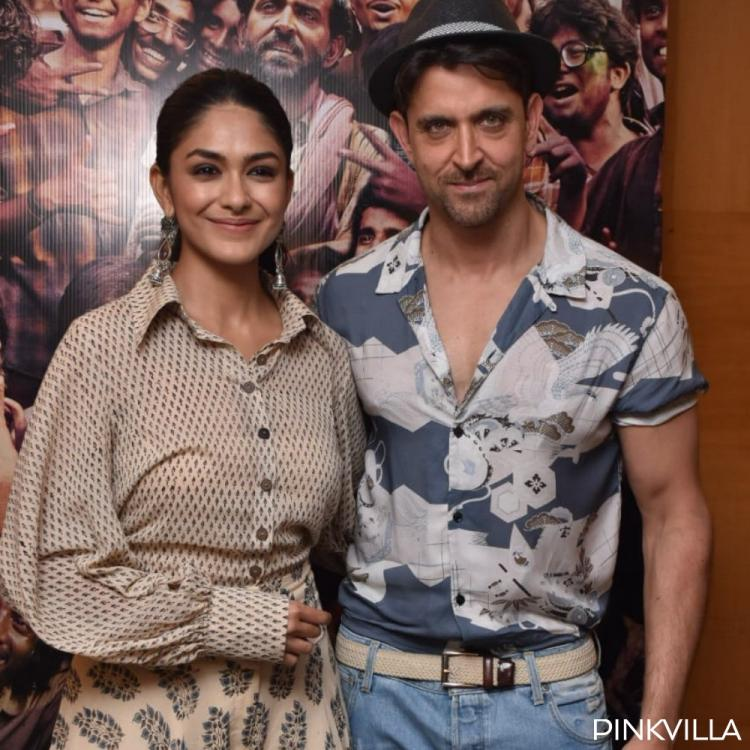 PHOTOS: Hrithik Roshan gives a summer twist to his OOTD & Mrunal Thakur keeps it chic for Super 30 promotions