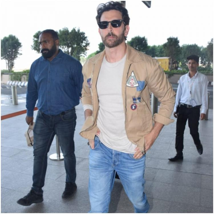 Hrithik Roshan is left impressed by the dance moves of the 'smoothest airwalker'; WATCH