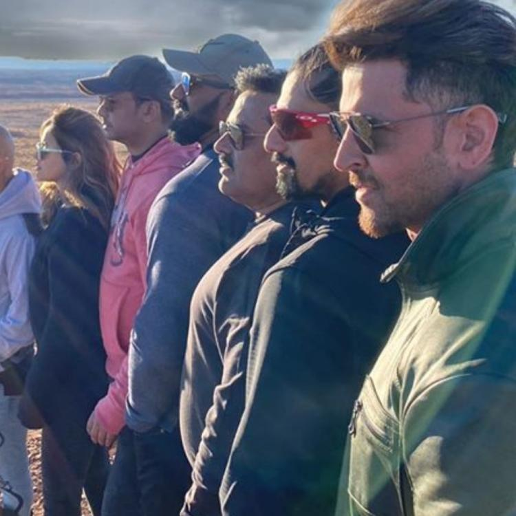 Hrithik Roshan shares a stunning photo with his team as he expresses gratitude to his 'Giants' for support