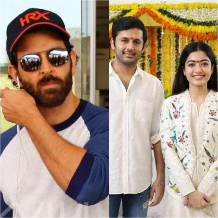 Hrithik Roshan REACTS to Rashmika Mandanna & Nithiin's Ghungroo dance video; Check it out