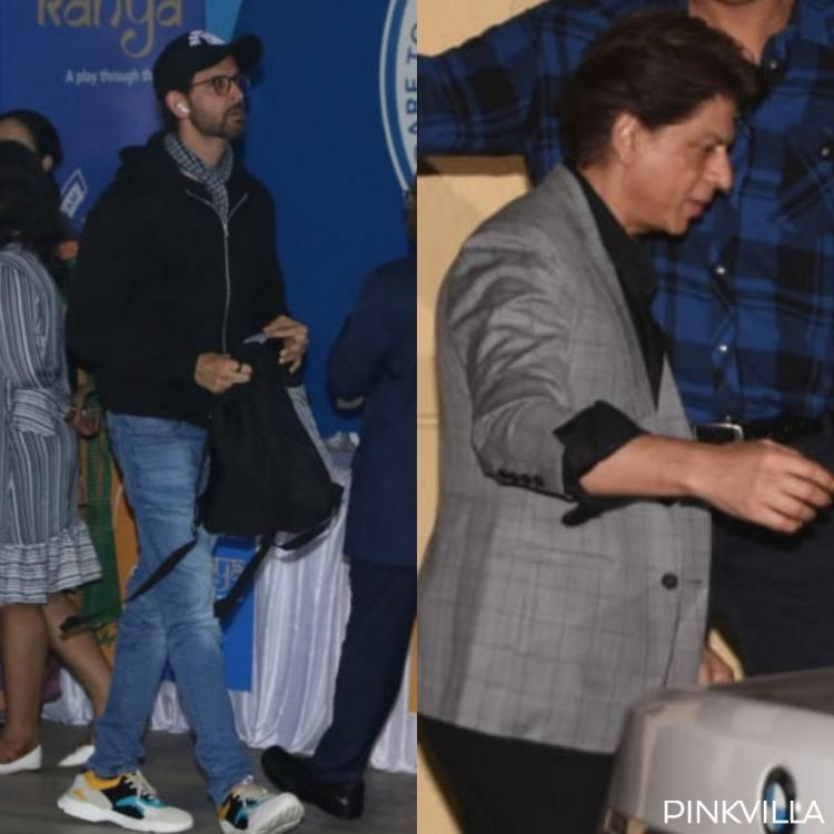 PHOTOS: Shah Rukh Khan, Gauri, Hrithik Roshan & Sussanne join Aishwarya and others for annual day function