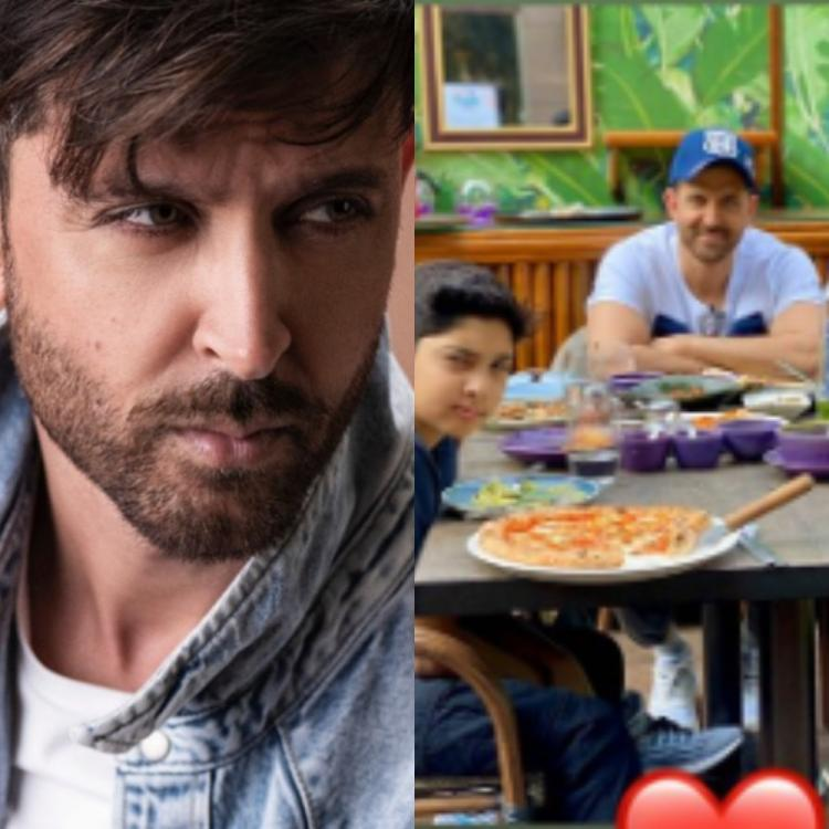 Hrithik Roshan is a happy dad as he enjoys Sunday brunch with sons Hrehaan and Hridhaan; See PHOTO