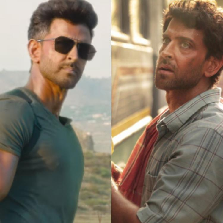 Hrithik Roshan as the hot fighter in WAR vs a simple