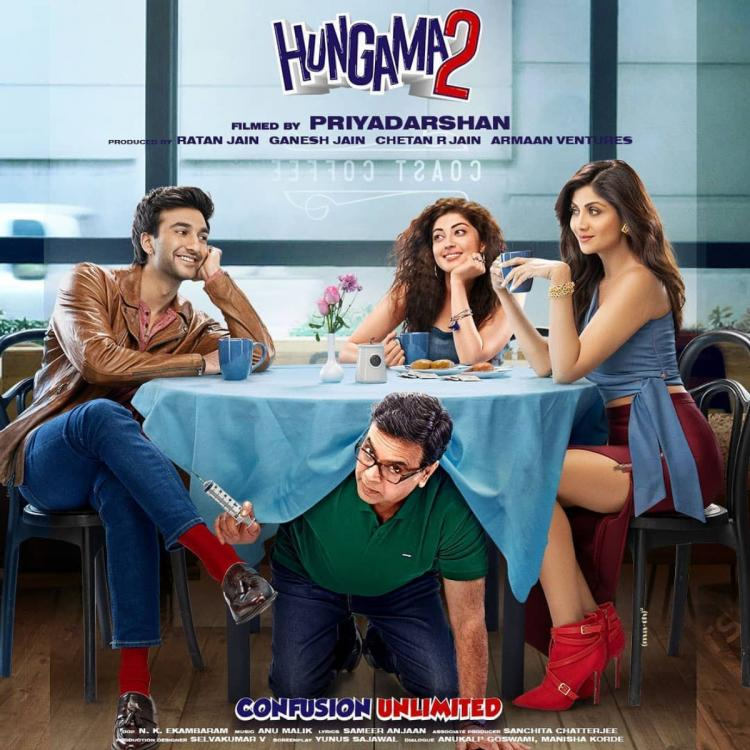 Hungama 2 New Poster: Shilpa Shetty, Paresh Rawal, Meezaan are all set to entertain us with their comedy flick