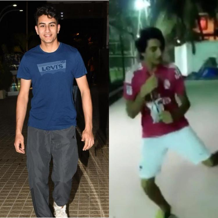 Ibrahim Ali Khan flaunts his cool moves as he grooves to Coldplay's Hymn for the Weekend in a throwback video