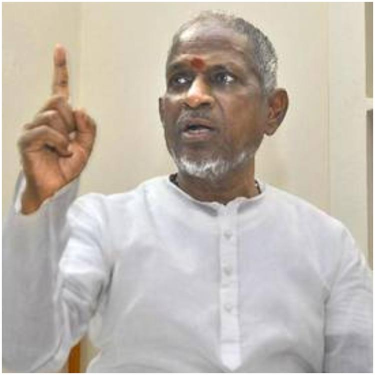 Ilaiyaraaja gets angry at a security personnel during a