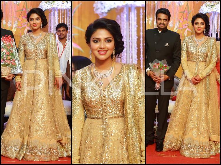 Yay or Nay : Amala Paul wears Sabyasachi for her wedding reception ...