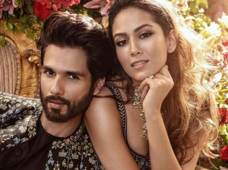 Shahid Kapoor and Mira Rajput on the Vogue Wedding Book Cover scream 'made for each other'