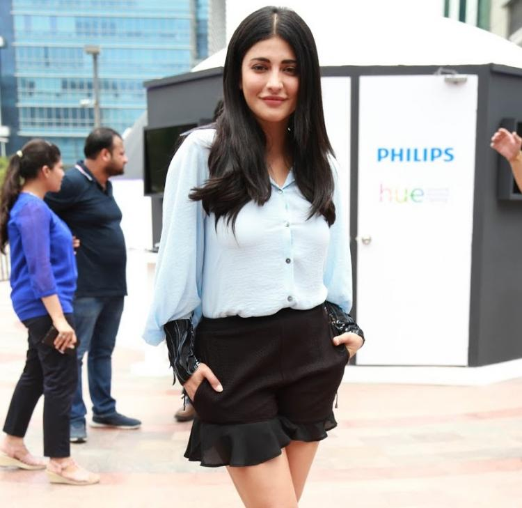 Shruti Haasan has this to say about one of the songs of her Debut EP