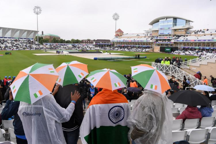 India vs New Zealand, ICC World Cup 2019: Rain delays the game at Nottingham; fans come up with funny memes