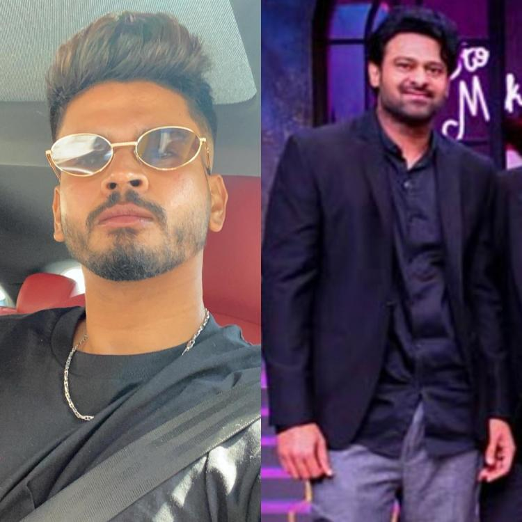 Indian Cricketer Shreyas Iyer is fanboying over Baahubali star Prabhas; Check it out