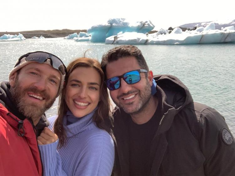 Irina Shayk made her first appearance in Iceland since her split with Bradley Cooper.