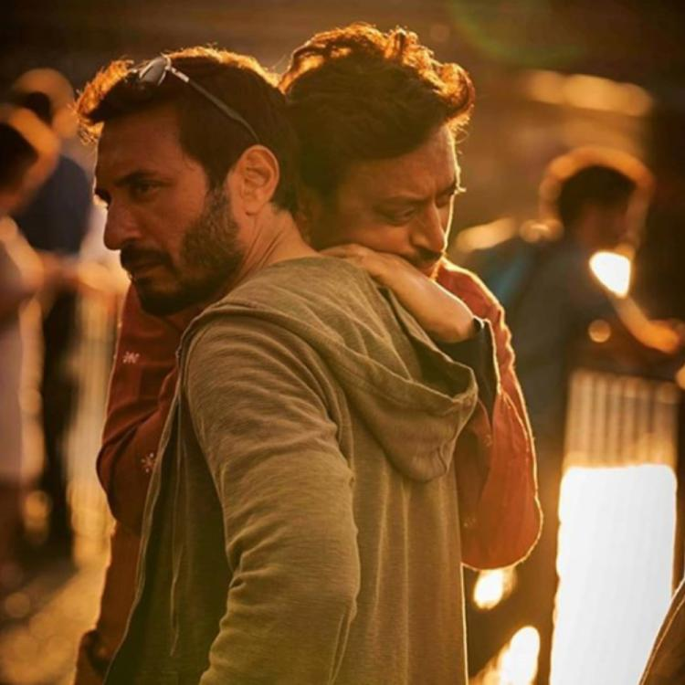 Angrezi Medium: Homi Adajania shares a PIC with Irrfan Khan along with a heartfelt note post wrap up of shoot