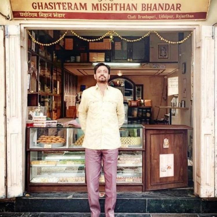 Currently, Irrfan is shooting for Angrezi Medium in Udaipur