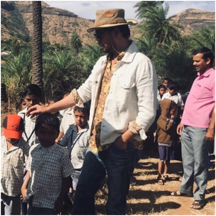 Irrfan Khan's son Babil fondly RECALLS the time when his father met school kids at their farmhouse; See Pics