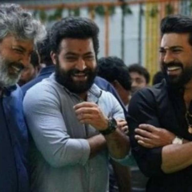 Is Ram Charan 'disappointed' with Jr NTR as the latter gave his surprise birthday gift to SS Rajamouli?