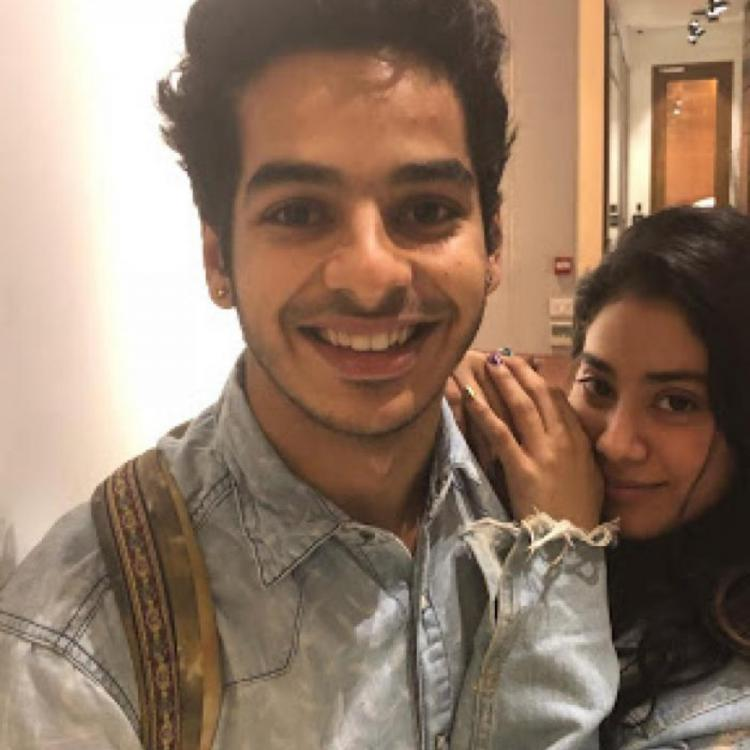 Here's what Ishaan Khatter did when he was asked to pick between Janhvi Kapoor and Sara Ali Khan