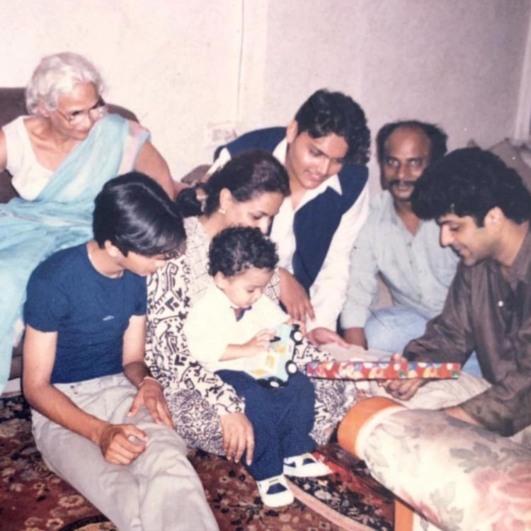 Children's Day 2019: Shahid Kapoor & Ishaan Khatter look adorable with mom Neelima Azeem in this throwback pic