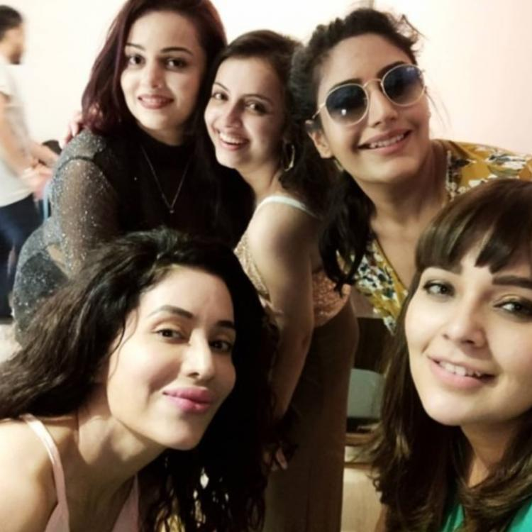 Ishqbaaaz girls Surbhi Chandana, Shrenu Parikh & Mansi Srivastava party hard at Nehalaxmi Iyer's birthday