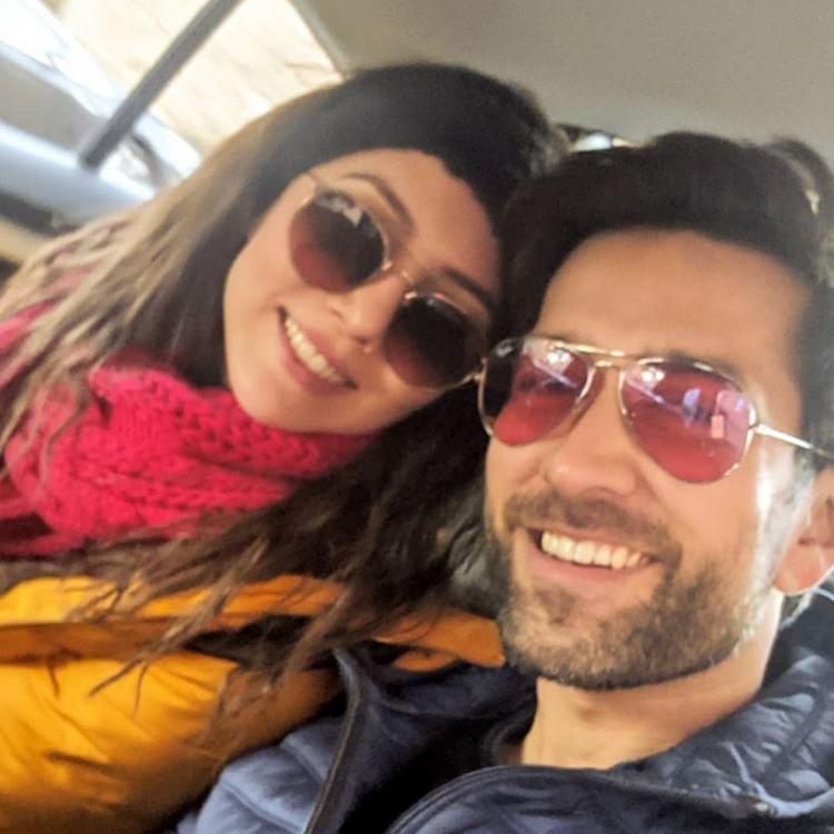 Ishqbaaaz fame Nakuul Mehta rings in New Year 2020 with a bang as he grooves with wifey Jankee