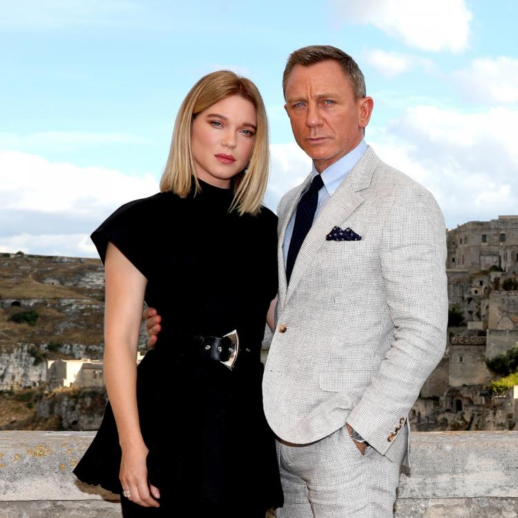 No Time To Die: Daniel Craig poses with Lea Seydoux in new photos from Bond 25 movie's Italian schedule