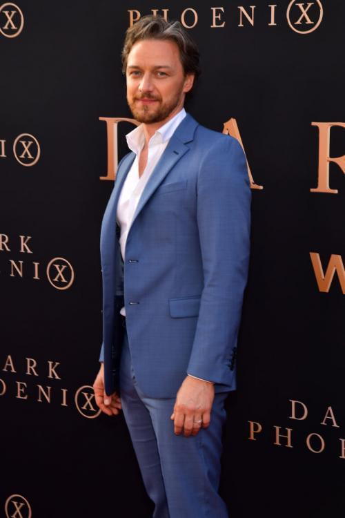 James McAvoy is portraying the character of Lord Asriel in His Dark Materials