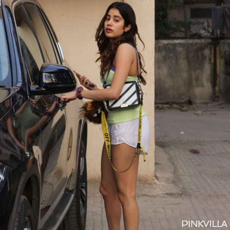 PHOTOS: Janhvi Kapoor flaunts her comfy avatar ahead of the weekend and we are loving it