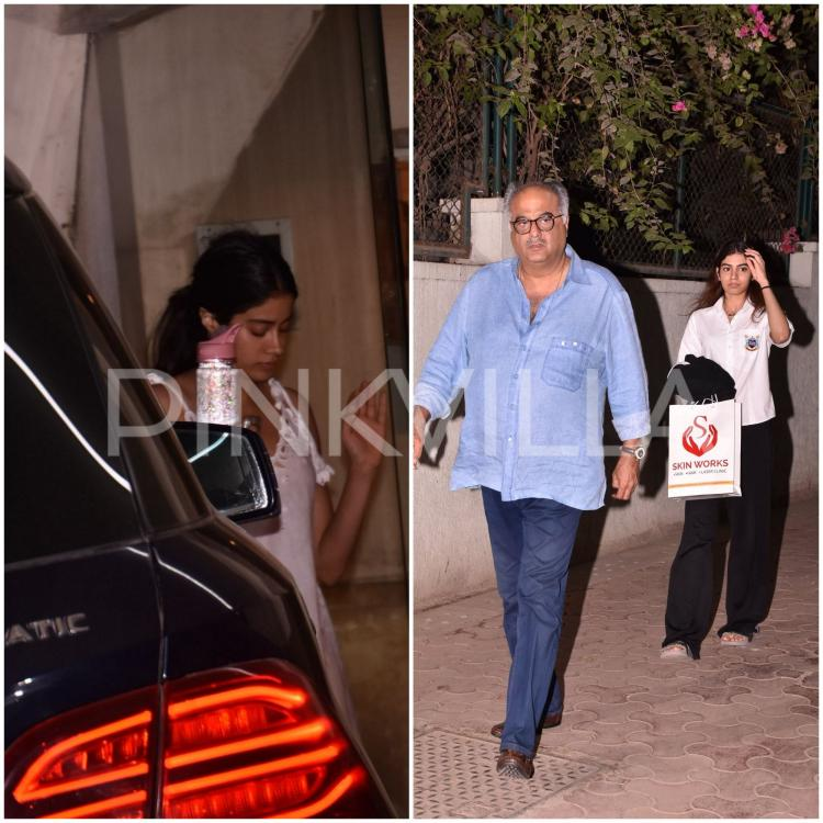 Photos,boney kapoor,janhvi kapoor