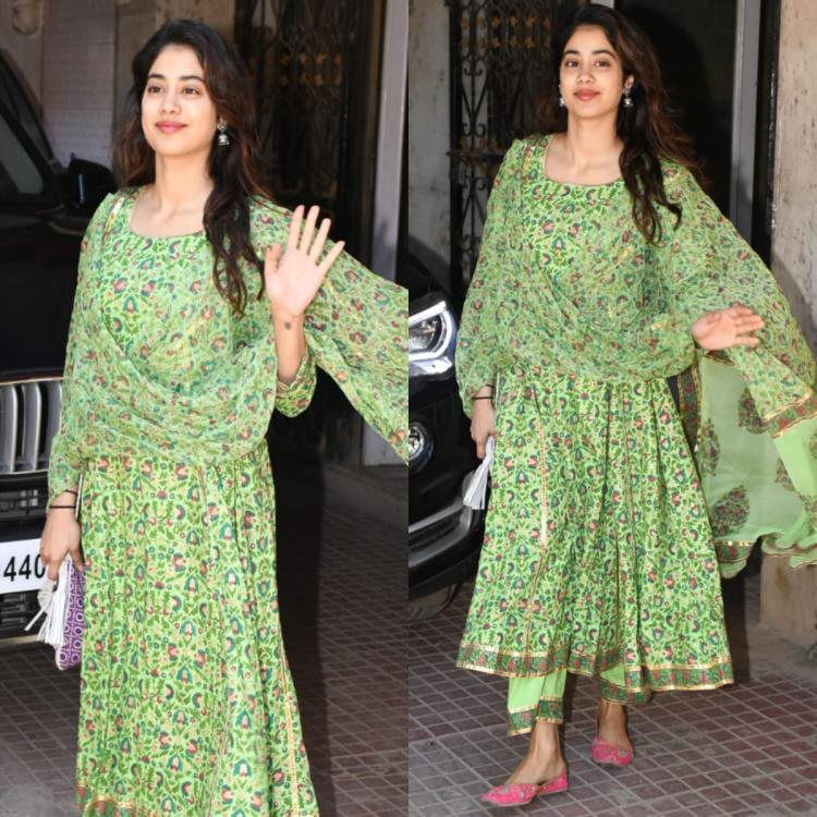 Janhvi Kapoor's breezy ethnic wear is perfect for a brunch date; Yay or Nay?