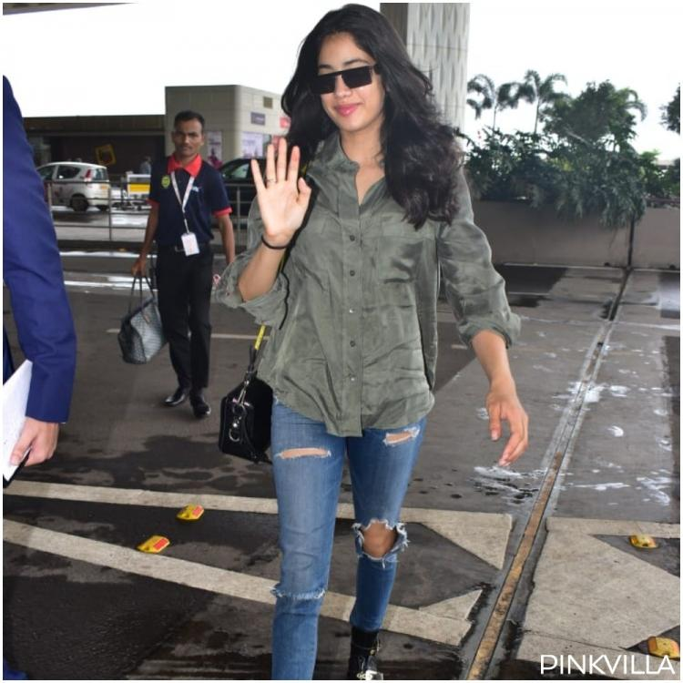 PHOTOS: Janhvi Kapoor is all smiles as she heads to Madame Tussauds Singapore to unveil Sridevi's wax statue