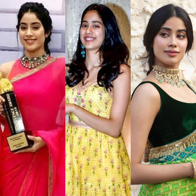 Janhvi Kapoor's desi outfits are to die for and we want to steal THESE for the festive season