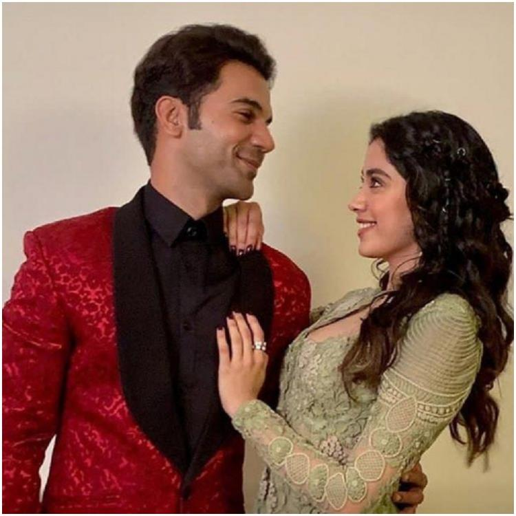 Janhvi Kapoor is all praises for Roohi Afzana co star Rajkummar Rao; Says 'He is a very giving actor'