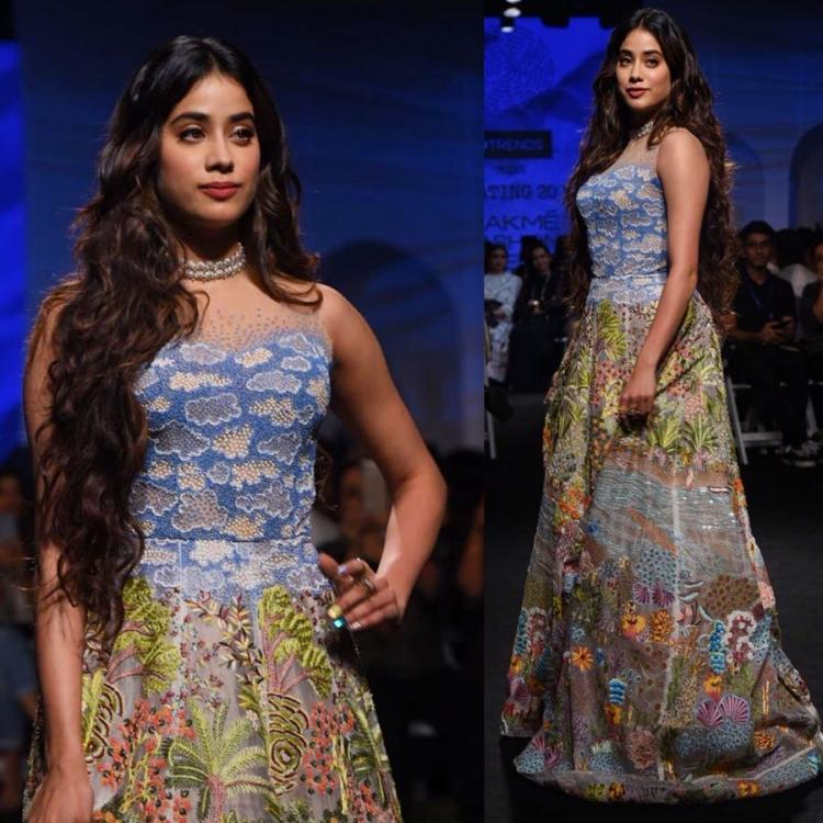 Janhvi Kapoor sashays down the runway in an ensemble by Rahul Mishra; Yay or Nay?