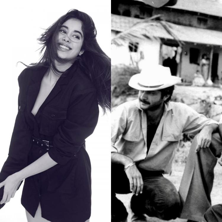 Janhvi Kapoor shares a throwback photo of Boney and Anil Kapoor from Hum Paanch and is all hearts for it