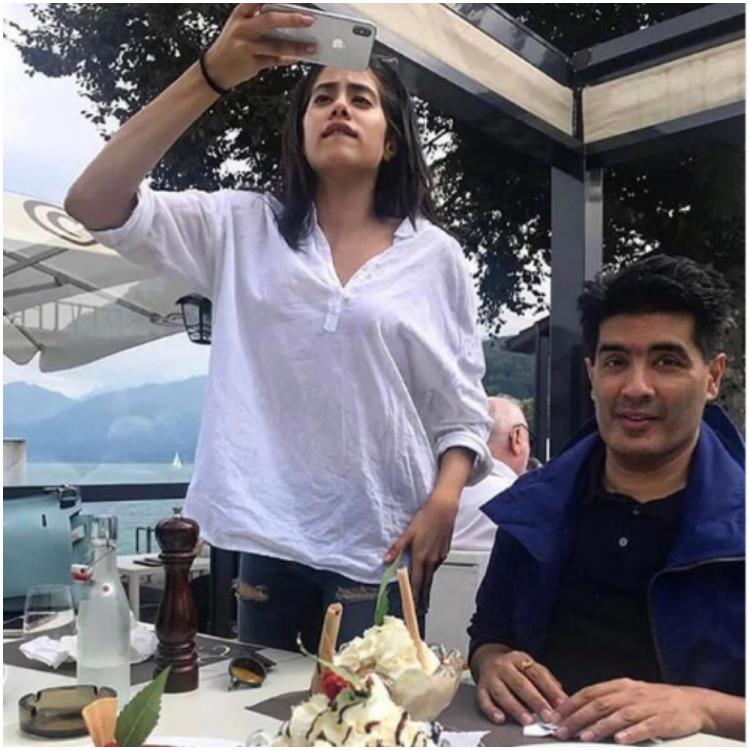 Janhvi Kapoor trying to capture delicious desserts in THIS photo is every foodie ever; Check it out