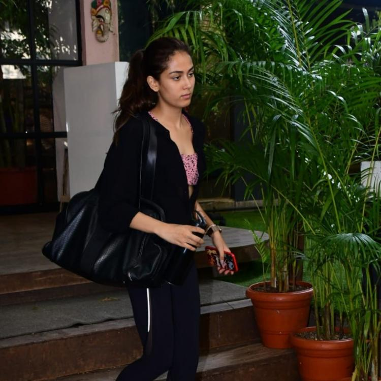 PHOTOS: Mira Rajput enrobes in an impressive all black attire as she steps out of the gym