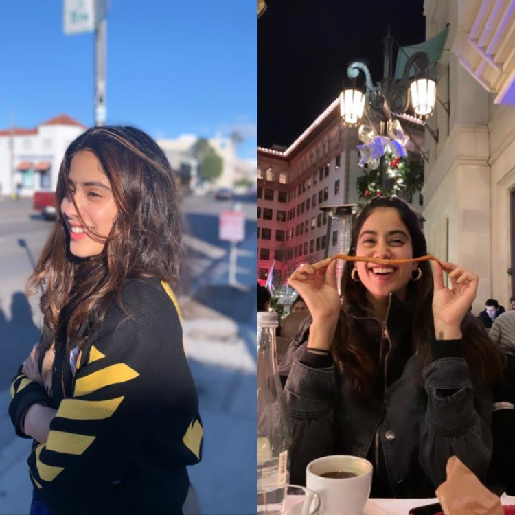 PHOTOS: Janhvi Kapoor's latest posts prove she is having the time of her life in Los Angeles