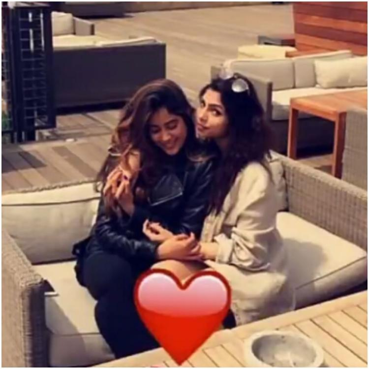 Janhvi Kapoor wishes Malaal actress & gym buddy Sharmin Segal on her birthday with an adorable throwback photo