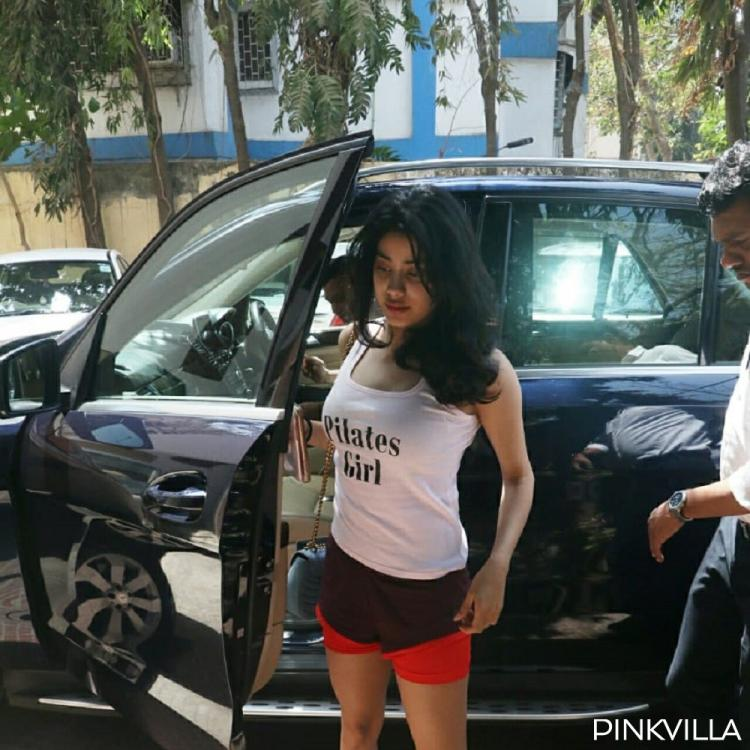 PHOTOS: Janhvi Kapoor looks fresh as a daisy as she gets snapped outside her gym