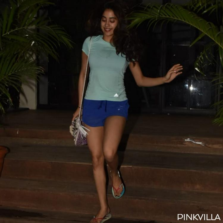 PHOTOS: Janhvi Kapoor is welcoming the weekend the blues just right as she hits the gym