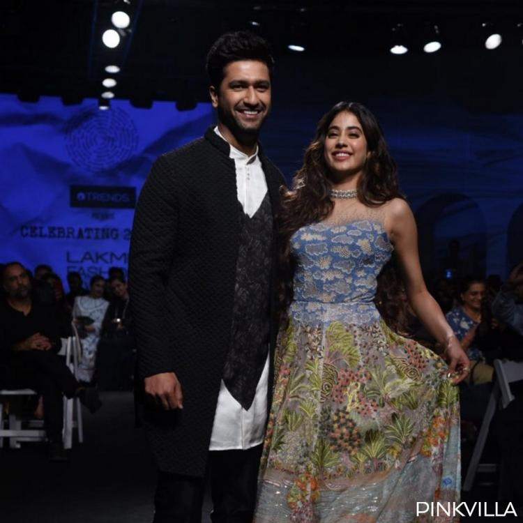 PHOTOS: Janhvi Kapoor and Vicky Kaushal walking the ramp will make you want them star in a film together