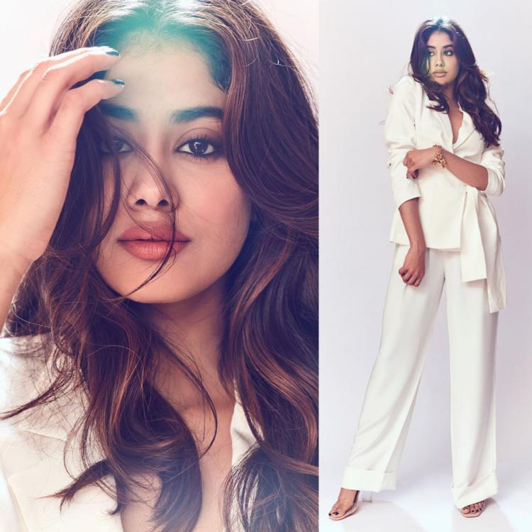 Janhvi Kapoor makes for the ultimate boss babe in a pristine white Judy Zhang pantsuit: Yay or Nay?