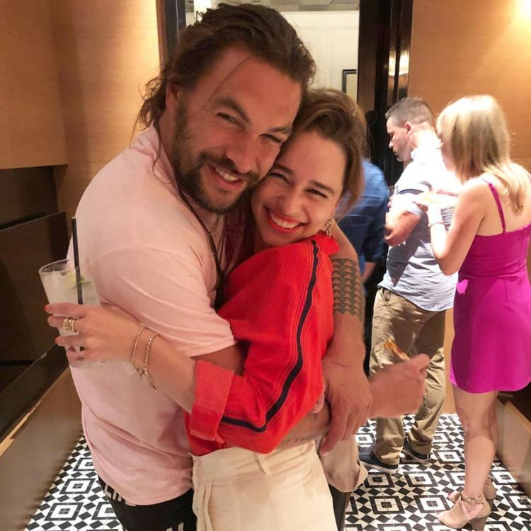 Game of Thrones: Emilia Clarke's birthday wish for Jason Momoa has a touching Daenerys & Khal Drogo connection
