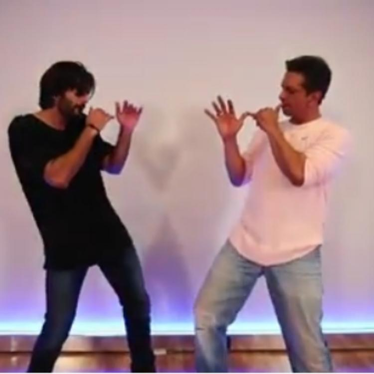 Javed Jaffrey shakes a leg with son Mizaan Jaffrey on the song 'Aila Re' in this latest VIDEO